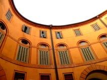 Rotonda Foschini i Ferrara, Italien Arkivbilder