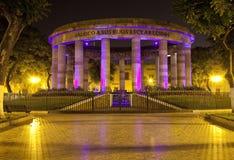 Rotonda i Guadalajara Arkivfoton