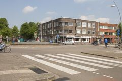 Rotonda nei Paesi Bassi fotografie stock libere da diritti