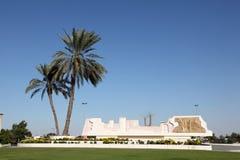Rotonda a Sharjah, UAE fotografie stock