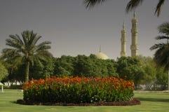 Rotonde in Al Ain stock afbeelding