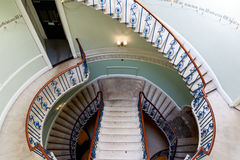 Rotonde Nelson Stair in Somerset House stock fotografie