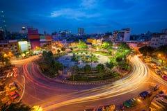 Rotonde 22 van de hoogste mening in Bangkok royalty-vrije stock afbeelding