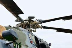 Rotor av helikoptern för Mil Mi-171S Arkivfoton