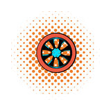 Rotor comics icon Royalty Free Stock Images