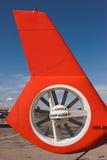 Rotor de cola del helicóptero Fotografía de archivo libre de regalías