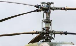 Rotor de helicópteros militares modernos Imagens de Stock