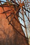 Rotor de moulin à vent Photos libres de droits