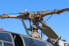 Rotor del helicóptero imágenes de archivo libres de regalías