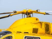Rotor del helicóptero Foto de archivo