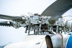 Rotor del helicóptero Fotografía de archivo