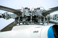 Rotor del helicóptero Fotos de archivo