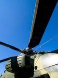 Rotor del helicóptero Foto de archivo libre de regalías
