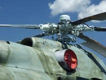 Rotor do helicóptero Imagem de Stock