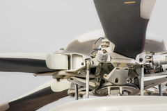 Rotor do helicóptero fotografia de stock royalty free