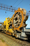 Rotor excavator Royalty Free Stock Photography