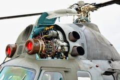 Rotor Mil Mi-2 helikopter Zdjęcia Stock