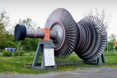 Rotor parowa turbina obraz stock
