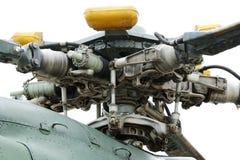 Rotor principal d'hélicoptère Image stock