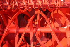 Rotor of Snowplow. Closeup picture of rotor of Snowplow Royalty Free Stock Image