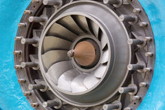 Rotor van een turbine Francis Royalty-vrije Stock Afbeeldingen