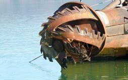 Rotor z ostrzem zdjęcia stock