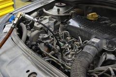 Rotore del freno dell'automobile Immagini Stock Libere da Diritti