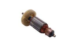 Rotore del motore elettrico fotografia stock libera da diritti