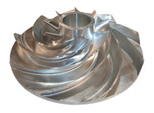 Rotore di turbina immagine stock