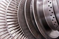 Rotore di turbina del vapore a bassa pressione Fotografia Stock Libera da Diritti