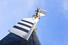 Rotores de cola del helicóptero Fotos de archivo libres de regalías