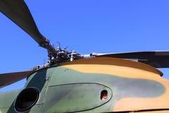 Rotores del helicóptero Imagenes de archivo