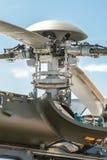 Rotores del helicóptero Fotografía de archivo