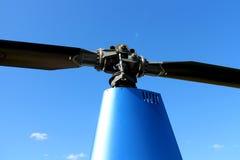 Rotorhead d'hélicoptère Photographie stock libre de droits