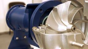 Rotorowa turbinowa elektryczna pompa dla wody lub ciecza Zdjęcie Stock