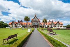 Rotorua Bath House/Museum Royalty Free Stock Photo