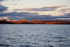 Rotorua jezioro, Nowa Zelandia Zdjęcia Royalty Free