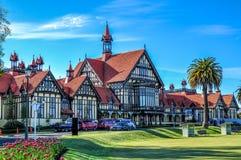 Rotorua museum Fotografering för Bildbyråer