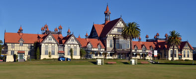 Rotorua Museum of Art and History - New Zealand Stock Photo