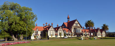 Rotorua Museum of Art and History - New Zealand Stock Image