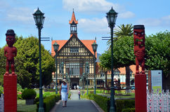 Rotorua Museum of Art and History - New Zealand Stock Images