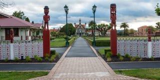 Rotorua museum and park, New Zealand Royalty Free Stock Photo
