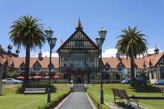 Rotorua museum som är nyazeeländskt Royaltyfri Foto