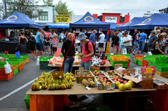 Rotorua Night market - New Zealand Royalty Free Stock Photos