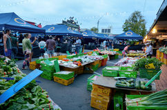 Rotorua Night market - New Zealand Royalty Free Stock Images