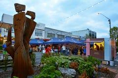 Rotorua Night market - New Zealand Royalty Free Stock Photography