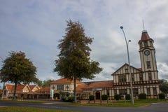 Rotorua rzędu ogród fotografia royalty free