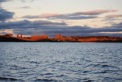 Rotorua sjö, Nya Zeeland Royaltyfria Foton