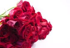 Rotrosenblumenstrauß Lizenzfreies Stockfoto