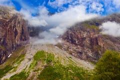 Rots dichtbij Trollstigen - Noorwegen Royalty-vrije Stock Afbeeldingen